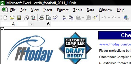 FF Today Draft Buddy: Instructions - FF Today